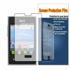HD Crystal Clear Screen Protector Shield Saver For LG Optimus logic L35G L38C