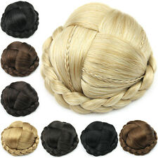 Clip In Hair Extensions Pony Tail Extension Hairpiece Clip In Bun Premium Qulity