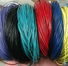15 ft-Leather Cord Round 2mm-Pick Color.