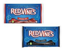 Red Vines Licorice Red or Black Twists Candy 3 ~ 1 lb. Bags