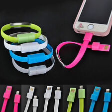 Fashion Wristband Bracelet USB Data Charger Cable For iPhone 6 6 Plus 5 5S 5C