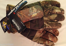Pair Realtree® Camo (AP or Xtra) 40g Thinsulate™ Insulation Waterproof Gloves