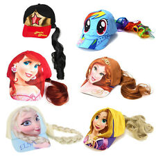Disney Baseball Cap Hat Girl One Size with Ponytail