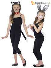 Kids Animal Dressing Up Kit Child Book Week Day Girls Fancy Dress Costume Outfit