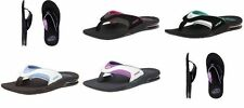Reef Womens Fanning Sandals flip flops bottle opener 6-11 NEW