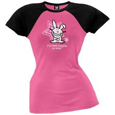 Happy Bunny - Been Naughty Womens Plus Size T-Shirt