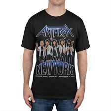 Anthrax - New York Event Adult Mens T-Shirt