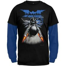 Batman - Shooting Cycle Youth 2fer Long Sleeve and