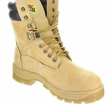 Herman Survivors BIG TIMBER II Steel-Toe, Slip & Oil Resistant, Men's Work Boots