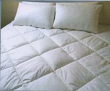 600GSM - Fully Fitted Mattress Topper - SINGLE DOUBLE QUEEN KING