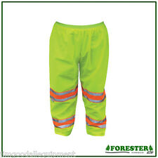Safety Pants,Meets ANSI/107-2004,Class E Standards,Solid Material,3M Hi-Vis