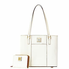 Dooney & Bourke Leather Small Lexington With Medium Zip Around
