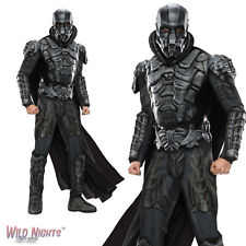 """FANCY DRESS COSTUME ~ MENS SUPERMAN GENERAL ZOD DELUXE SIZE 38""""-46"""" CHEST"""