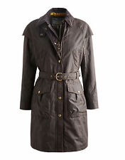Joules Catherine Wax Coat (Rustic Brown) **Official UK Stockist** LB