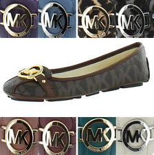 Michael Kors Fulton Moccasin Women's Leather Flats Shoes