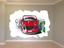 Huge Koolart Cartoon Ferrari F40 Wall Sticker Poster Mural 1476