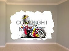 Huge Koolart Cartoon Suzuki Barry Sheene Wall Sticker Poster Mural 1482