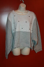 Stella McCartney ES studded sweatshirt  nwt