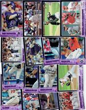 YOU PICK ONE! 2015 Topps Baseball PURPLE Toys R Us Exclusive Parallel Card