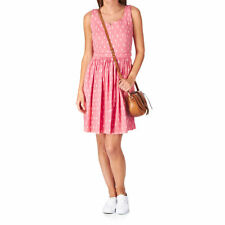 People Tree Orla Kiely Flower  Womens  Dress - Pink