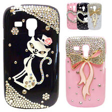 Luxus VIP STRASS Bling Bling 3D Cover Case Hülle Galaxy S2 S3 Mini Iphone 4 5