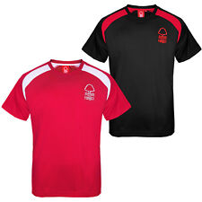Nottingham Forest FC Official Football Gift Boys Poly Training Kit T-Shirt