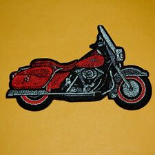Motorcylce Iron Sew on Patch Embroidered Applique Biker Badge Punk Rock Cute