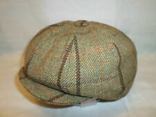 ENGLAND MADE 100% WOOL NEWSBOY GATSBY VICTORIAN EDWARDIAN PEAKY BLINDERS CAP