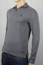 Polo Ralph Lauren Grey 1/2 Half Zip Sweater Green Pony NWT