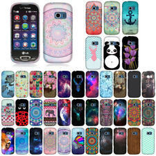For Verizon LG Extravert 2 VN280 Aztec Snap On HARD Case Cover Accessory