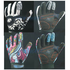 WINTER BIKE MOTORCROSS CYCLING RACING GOTH FULL FINGER GLOVES SPORT MITT M/L/XL