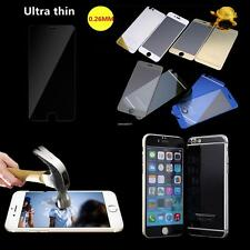 """iPhone 6 4.7"""" Plus 5.5"""" Front Back Mirror Effect Tempered Glass Screen Protector"""