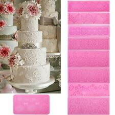 Silicone Fondant Cake Lace Sugar Craft Cake Texture Decorating Mould Tool DIY