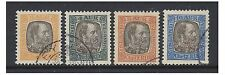 Iceland - 1902, 3a - 10a Official stamps - Used - SG O81/O84