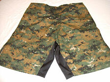 BLANK DIGITAL CAMO MMA PT S-T-COMP BOARD SHORTS FIGHT SHORTS SIZE XS WAIST 28