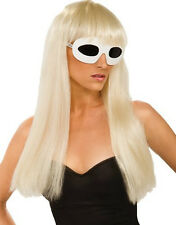 Licensed Katy Perry or Lady Gaga Rock Star Girls Wig Costume Accessory, Rubies