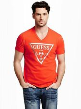GUESS Men's Bordeaux Tee
