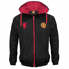 Manchester United FC Official Gift Mens Shower Jacket Windbreaker (RRP £39.99!)