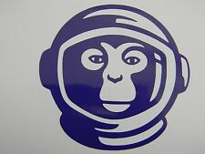 Space Monkey Vinyl Decal Sticker Choose your Color and Size