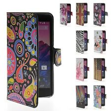 Floral Print Style Leather Flip Wallet Stand Case Cover For LG Google Nexus 5