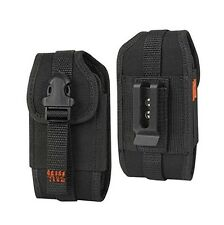 Heavy Duty Vertical Case Pouch Clip for Cell Phones (Fits w Mophie Juice Pack on