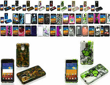 Design Skin Cover Hard Case For Samsung Galaxy S2 S II SCH-R760/R760X Phone