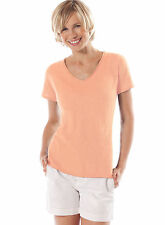 Motherwear Nursing Breastfeeding Short Sleeve Cotton Roll Neck Knit Tee 22084