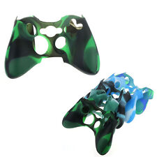 Replacement Camouflage Silicone Skin Cover Case For Xbox360 Controller Salable