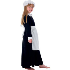 CHILD GIRL ELSIE VICTORIAN PARLOUR MAID GIRLS FANCY DRESS COSTUME AGES 10-12 YRS