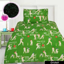 Glow in The Dark Cricket Quilt Cover Set SINGLE DOUBLE QUEEN KING