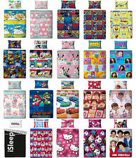 Los niños ropa de cama 135x200 conjunto de cama Hello Kitty one direction Disney Turtles