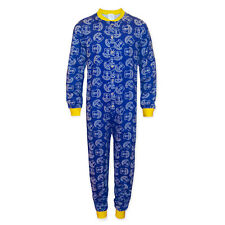 Everton FC Official Football Gift Boys Kids Pyjama All-In-One