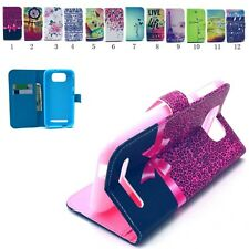 For BLU Studio 5.5 D610A PU Leather slot wallet flip stand case skin cover