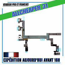 NAPPE BOUTTON POWER IPHONE 5 ON OFF +  NAPPE BOUTTON VOLUME + NAPPE VIBREUR